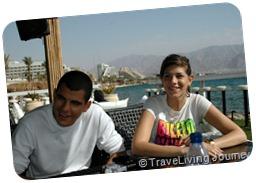 Amit and Raz (Bira) her boyfriend