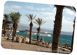 The North Beach in Eilat