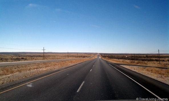 The National Parks Hwy from NM to TX