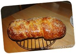 Fresh Challah for Shabbat