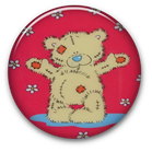 Tatty teddy flair button