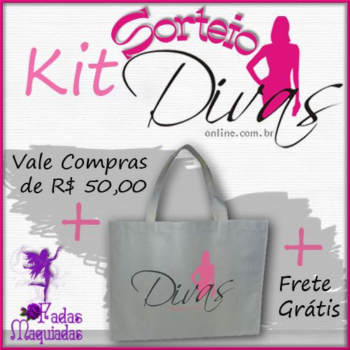 Sorteio Kit 'Divas On-Line'
