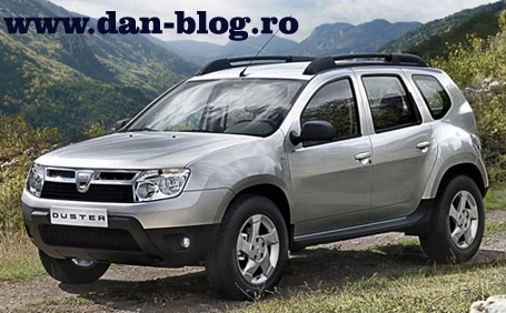 Dacia Duster lateral 455 Dacia Duster