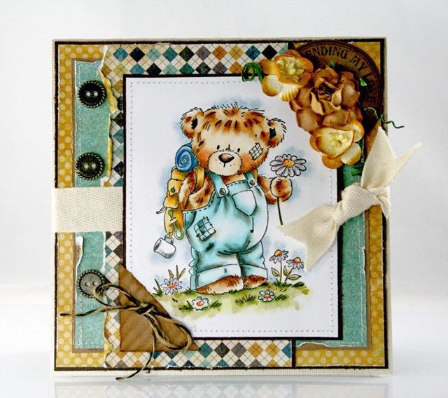 Claudia_Rosa_Penny Black_Teddy w. daisy
