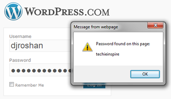 Reveal Hidden Asterisk Password in Firefox &amp; IE