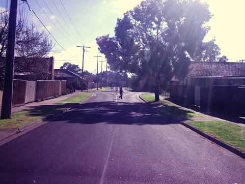 crossin streets
