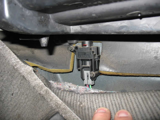 1998 ford ranger inertia switch location  1998  get free