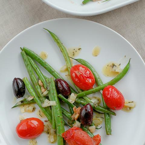 Haricot Vert Salad French Haricot Vert Salad With