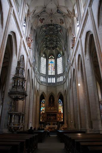 Интерьер собора Св. Барбары