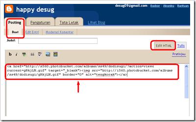 edit HTML posting 01