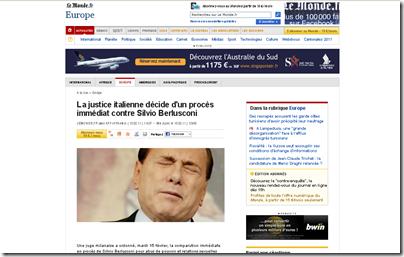 Silvio Berlusconi rinviato a giudizio