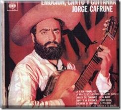 Jorge Cafrune - Emoción, canto y guitarra - Frente vinilo