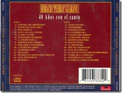 Horacio Guarani - 40 Años Con El Canto Cd 1 - Contra