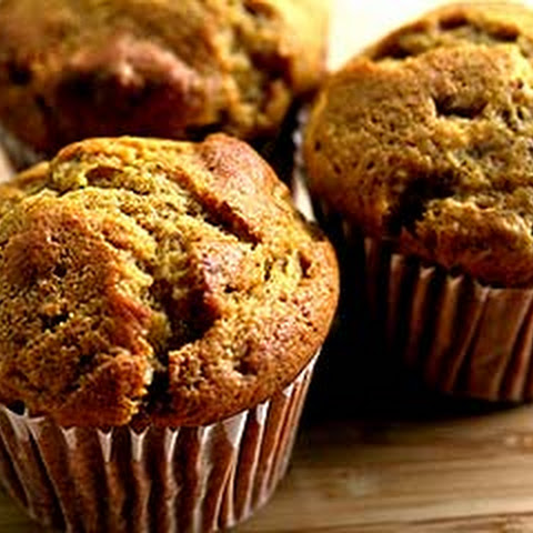 Pumpkin Ginger Nut Muffins