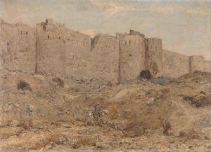 RIJKS: Marius Bauer: painting 1900