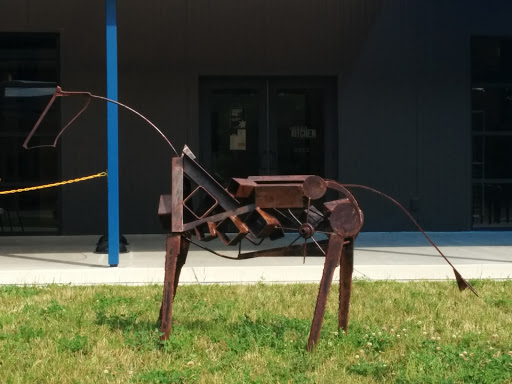 Metal Horse Artwork