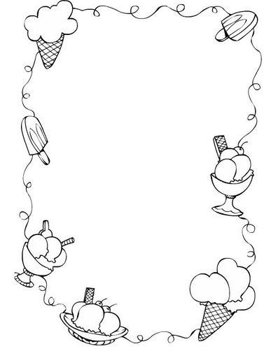 Cenefas infantiles for Cenefas para dibujar