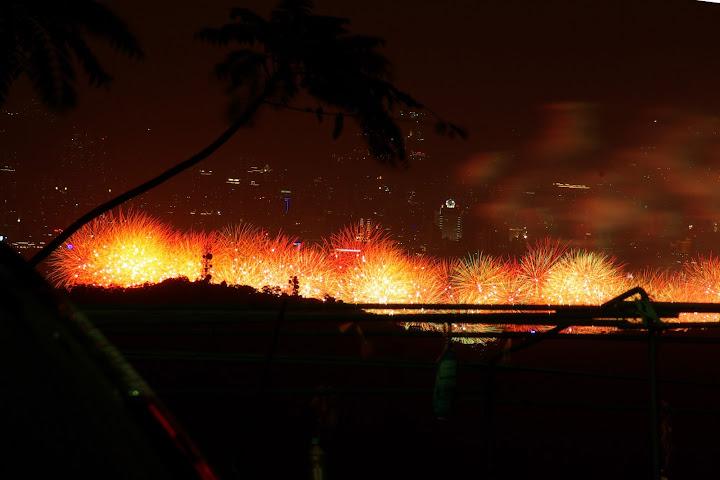 陽明山的101煙火