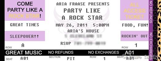 ARIA invite frontXX