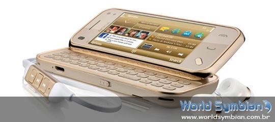Nokia N97 Mini de ouro