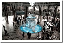 Venus Fort Fountain-0350
