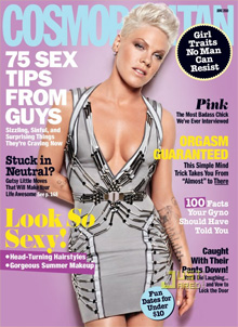 P!nk covers June's '10 issue of Cosmopolitan