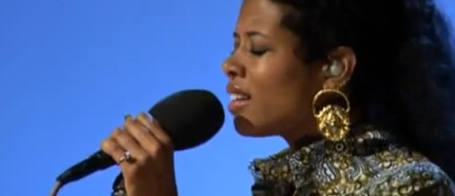 Live performance: Kelis covers LaRoux's 'In for the kill' @ Radio 1's live lounge