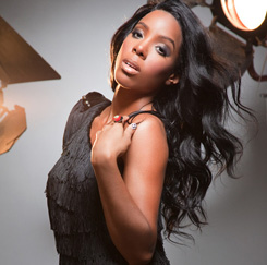 Kelly Rowland's new photo shoot with celeb photographer, Derek Blanks