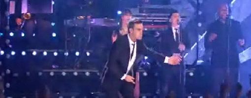 Robbie Williams @ The BRIT awards 2010