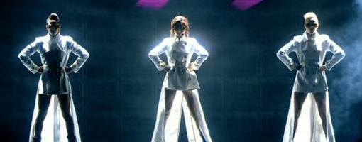 Cheryl Tweedy @ The BRIT awards 2010