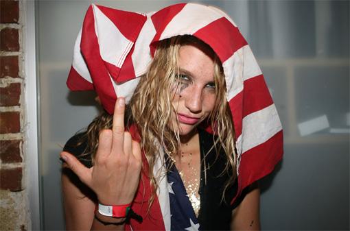Ke$ha gives Britney's miming the middle fanga