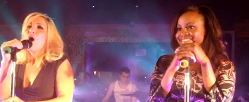 Keisha's last performance as a Sugababe