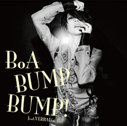 BoA's 'Bump Bump!' single cover artwork [CD + DVD]