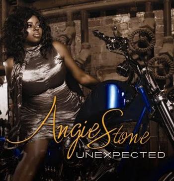 Angie Stone's 'Unexpected' album cover