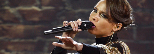 Alicia Keys' performance at the 2009 American music awards
