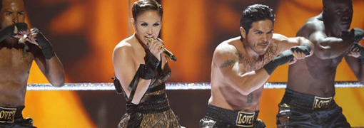 Jennifer Lopez's performance at the 2009 American music awards