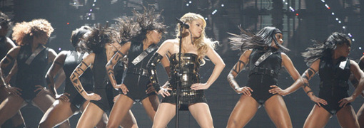 Shakira's performance at the 2009 American music awards