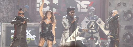 The Black eyed peas' performance at the 2009 American music awards