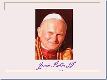Juan PABLO II... sonriendo