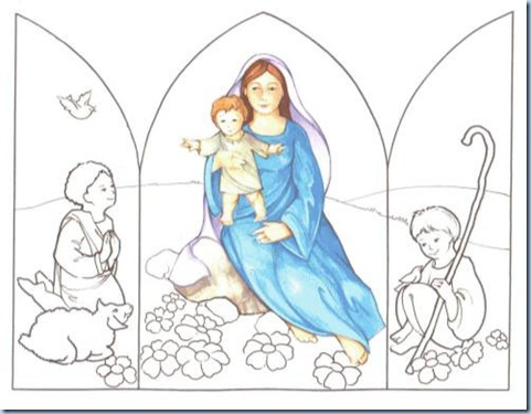 Triptico de Mamá María