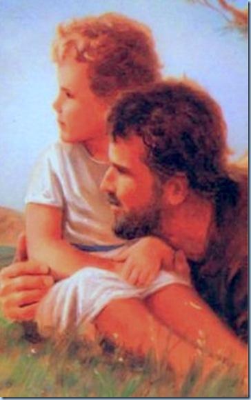 El Buen José y el Niño Jesús