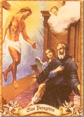San Peregrino Patrono de los enfermos de cáncer