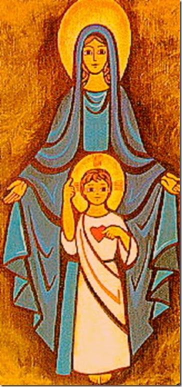 La Hermosa Doncella de Nazaret y su Hijo Jesús