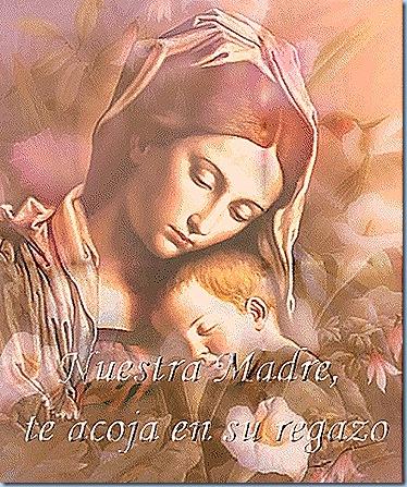 Nuestra Mamá María nos protege con su Manto siempre