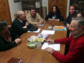 Reunión entre Cáritas y grupos pro-vida
