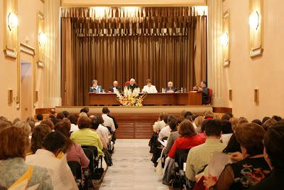 Encuentro de profesores de religión del 18 de octubre de 2008