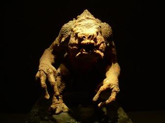 el rancor del palacio de Jabba. Exposición de Star Wars, Madrid