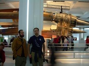 vaina de Anakin.  Exposición de Star Wars, Madrid