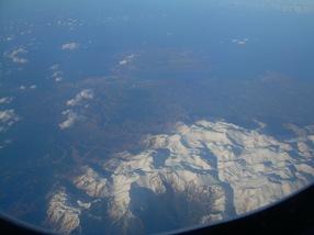 Creta desde el avión