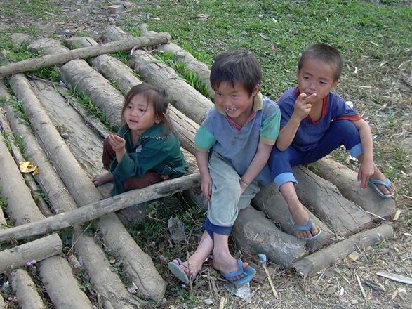 aldea cercana a Luang Prabang, Laos